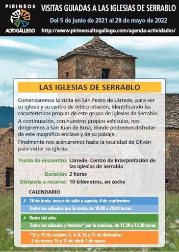 Folleto Iglesias de Serrablo 2021-2022