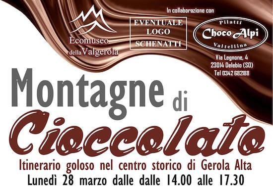 Montagne di cioccolato 28 Marzo  Gerola Alta (SO)
