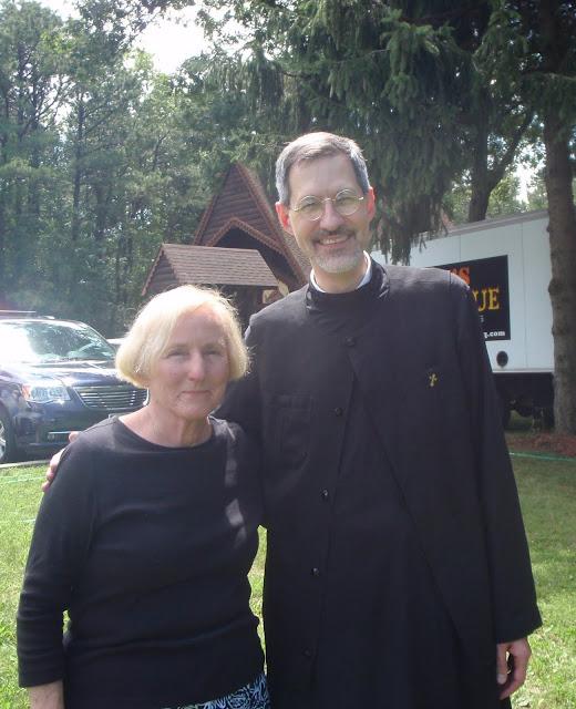 Carol and Fr. Michael.