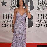 OIC - ENTSIMAGES.COM - Rihanna at the  The BRIT Awards 2016 (BRITs) in London 24th February 2016.  Raymond Weil's  Official Watch and  Timing Partner for the BRIT Awards. Photo Mobis Photos/OIC 0203 174 1069