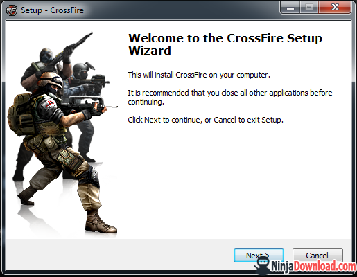 how to install crossfire game