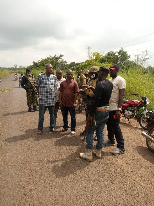 Gunmen Kill Police Officer, Motorcyclist In Benue (Photos)