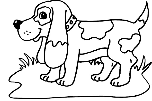 Awesome Dog Coloring Page Has Dog Coloring Pages For Adults