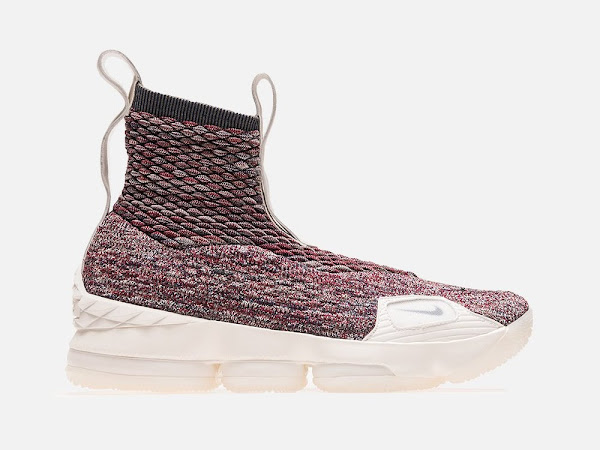 KITH  X Nike LeBron 15 Lifestyle Stained Glass w 3 Straps