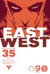Actualización 18/01/2018: Se agrega el número #35 de East of West, por GinFizz para la pagina de Facebook G-Comis. Nos ponemos al día con la Muerte y Babilonia.