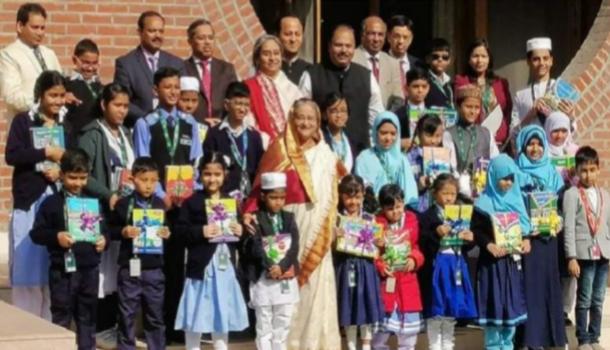 নতুন বছরের বই উৎসব উদ্বোধন করলেন, প্রধানমন্ত্রী শেখ হাসিনা