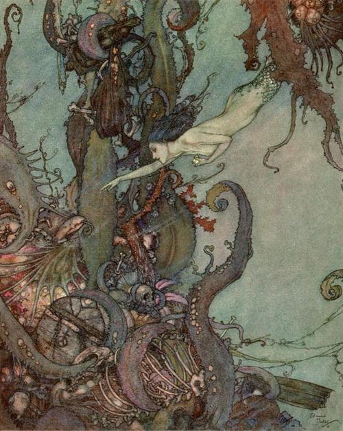Undine By Edmund Dulac, Undines