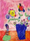 Chalk Pastel Still Life by Elizabeth