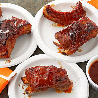 Apricot Chipotle Pork Ribs.