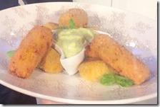 Crocchette di patate e zucca con maionese al prezzemolo