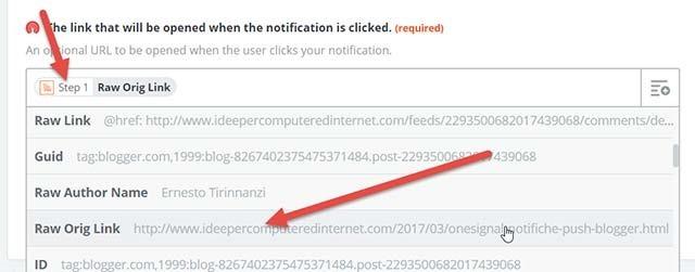 configurazione-feed