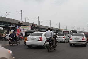 Traffic in Chennai