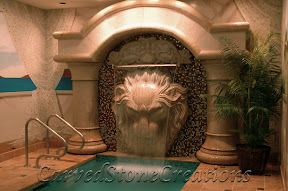 carved stone fountain, estate fountain, Exterior, Fountains, garden fountain, garden fountains, granite fountain, outdoor fountains, stone fountain, stone garden fountain, Wall