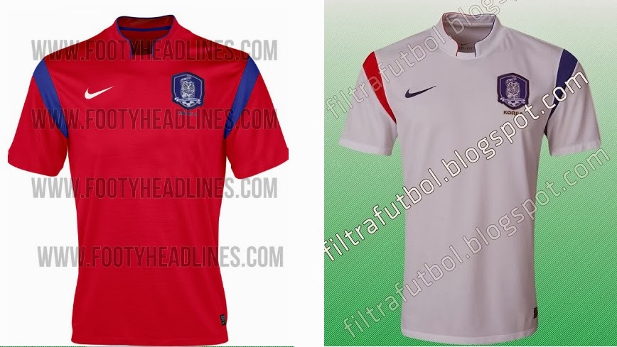 South Korea Home Kit 2014 Fifa World Cup – Official Shirts