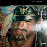 The Art of DANIMAL at Tom of Finland's house