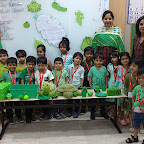 Green Day Celebration by Jr. Kg Section at Witty World, Bangur Nagar (2018-19)