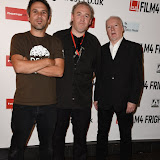 OIC - ENTSIMAGES.COM - Paul Goodwin, Sean Hogan and Kevin O'Neill  at the Film4 Frightfest on Saturday    of   Future stock - The story of 2000AD  UK Film Premiere at the Vue West End in London on the 29th August 2015. Photo Mobis Photos/OIC 0203 174 1069