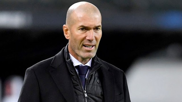 Real Madrid Head Coach Zinedine Zidane Contracts COVID-19