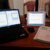 Doing Work (iPad Monitor)