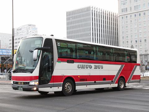 北海道中央バス「スターライト釧路号」 2445