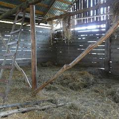 7.Stodoła  Po całym dniu podróży w czasie deszczu, stwierdziliśmy, że zrezygnujemy z rozstawiania namiotów i poszukamy jakiejś taniej agroturystyki bądź też przytulnej stodoły… Traf chciał, że znaleźliśmy 2 w 1 tzn. stodoła w gospodarstwie agroturystycznym. Gospodarze agroturystyki okazali się niezwykle gościnni, poza przytulnym, wyściełanym siankiem schronieniem, poczęstowali nas własnymi wyrobami: chlebem, twarogiem, kiełbasą oraz niebywale aromatycznym miodem. Pychota!