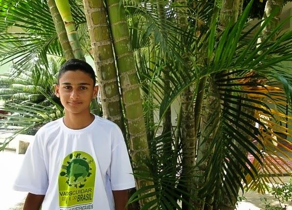 Alunos da Escola Adelina Fernandes representa Natal na 4ª Conferência Nacional Infantojuvenil pelo Meio Ambiente