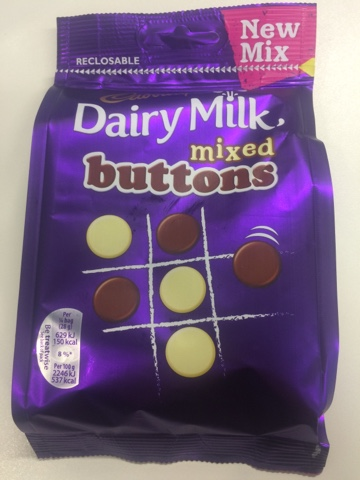 A Review A Day Todays Review Cadbury Dairy Milk Mixed Buttons