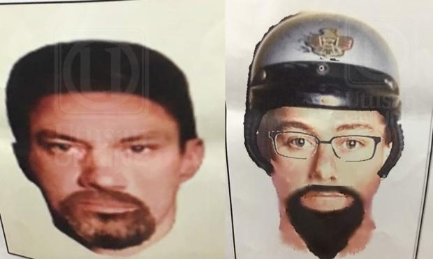 Polis edar lakaran wajah dua penembak Imam Palestin