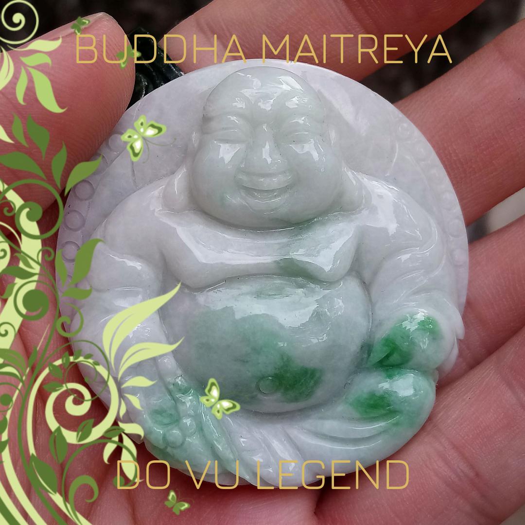 Phật Di Lạc ngọc Miến Điện chạy lý