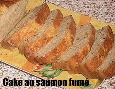 recette du Cake moelleux au saumon fumé