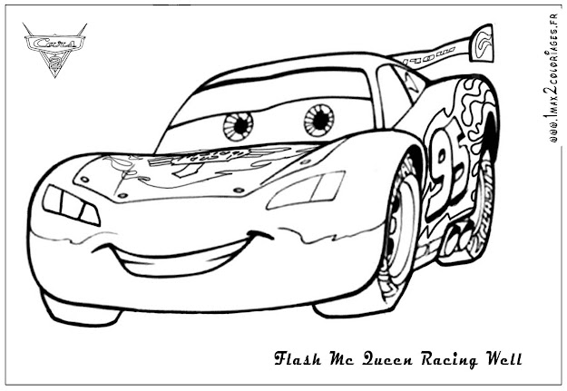 Disney Cars Coloring Pages To Print On Cartoons With Mcqueen Cars  Coloring Pages Lightning To