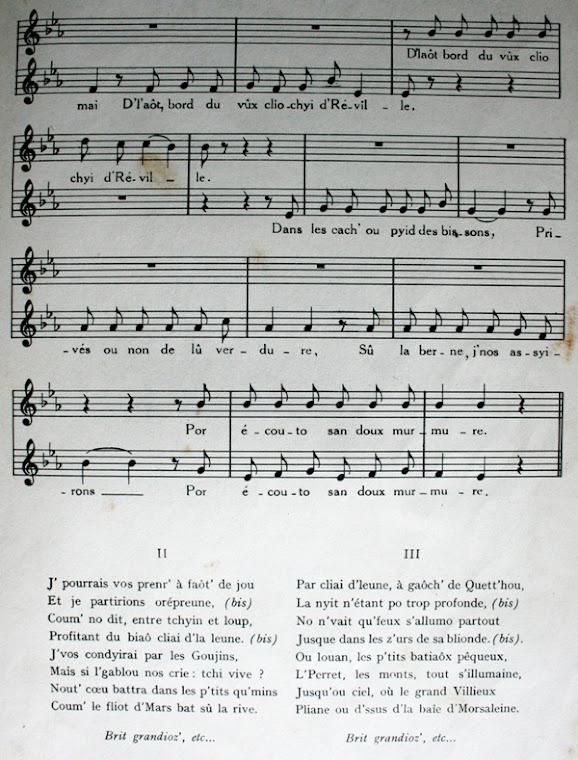Partition: Le Rôt d'la Mé - Alfred Rossel