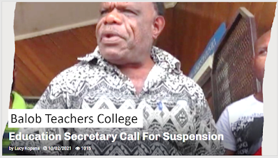 balob teachers college