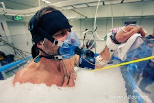 Wim Hof undergoing medical tests on why he can stay under ice for such inhuman periods.