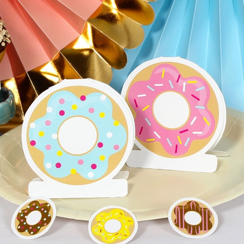 BEAUTIFUL DONUTS DIY DECORS FOR AMAZING LOOK 5