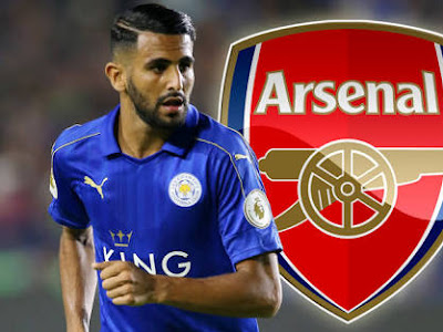 GREEN LIGHT :Riyad Mahrez sends message to Arsenal fans about his future