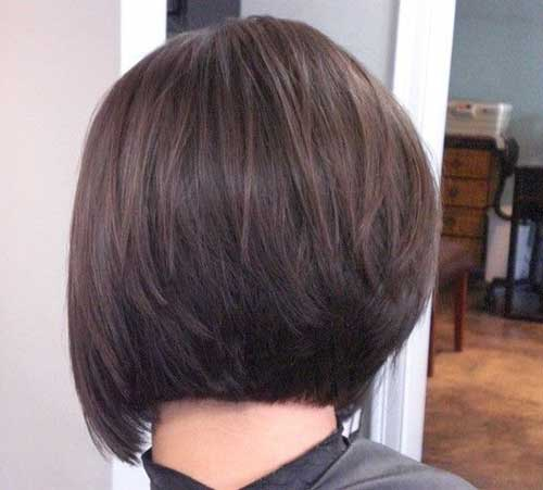 Latest Hair Style 2018 Attend Wedding Hair Tied Back: Short Blonde Shaggy Bob Haircut Back View