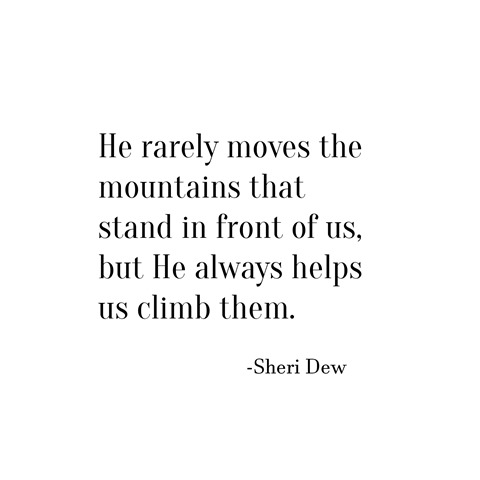 mountains -- sheri dew