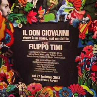 Don Giovanni - Vivere è un abuso, mai un diritto