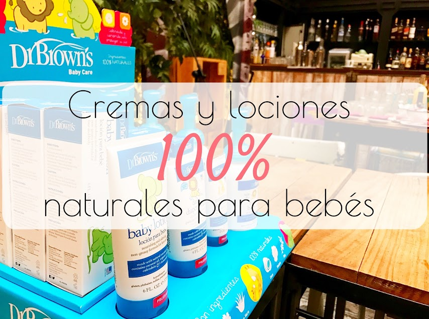 cremas naturales dr.Browns