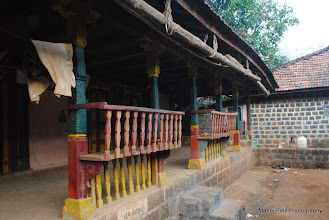 Photo: This is the common architecture in this area ...we also found this kind of design in our Lingana trek...which is also in same area....