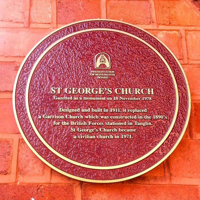 ServicefromHeart travel St George's Church Tanglin Singapore