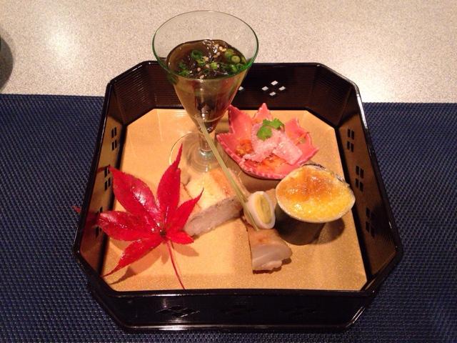 トスラブ箱根和奏林 前菜