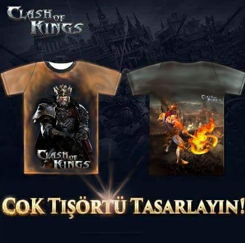 Clash of Kings Tshirt Tasarım Yarışması Kazananı Belli Oldu