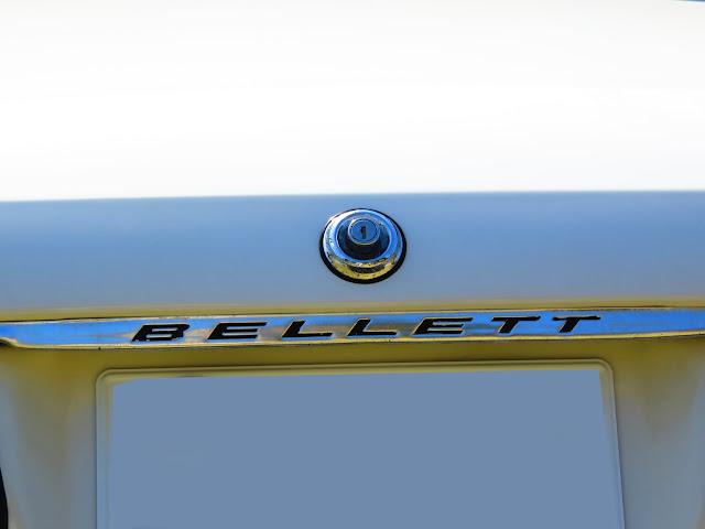 いすゞべレット(isuzu bellet)-トランクのエンブレム