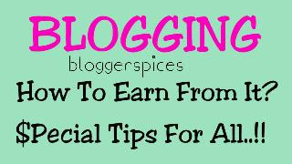 BLOGGING How To Earn