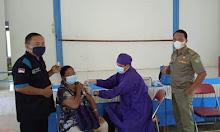 Galakkan Vaksinasi, Tim Vaksinasi Tiga Hari Di Belitang