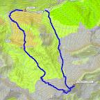traccia GPS 1° giorno: 11,8 km