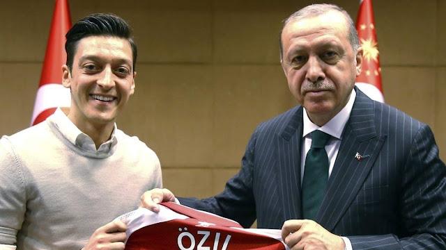 Erdogan dan Mesut Oezil Terpilih Jadi Figur Muslim Terbaik 2019