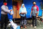 Alumni Diktukba Polri Gel-II TH 2003/Bharaduta Memberikan Bantuan Sembako Kepada Masyarakat Kurang Mampu
